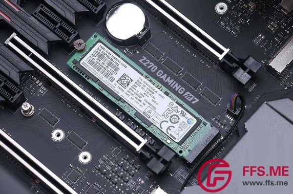M.2固态硬盘安装图